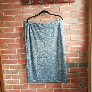 Old navy XL grey heathered pencil skirt